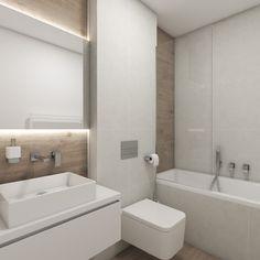 Moderní koupelna PALM - vizualizace