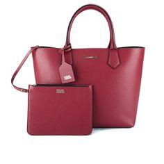 Karl Lagerfeld Karl Kolor Shopper Bag - Raspberry: Image 01