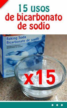 Cada mujer debe saber estos 15 usos de bicarbonato de sodio #belleza #trucos #bicarbonato #mujer #piel #dientes