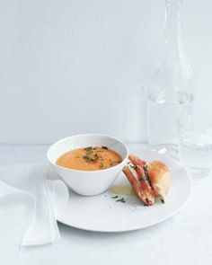 Cantaloupe Soup with Prosciutto and Mozzarella Sandwiches by Real Simple. MyRecipes recommends that you make this Cantaloupe Soup with Prosciutto and Mozzarella Sandwiches recipe from Real Simple Melon Recipes, Cantaloupe Recipes, Sandwich Recipes, Water Recipes, Supper Recipes, Soup Recipes, Pbs Food, Soup And Salad, Kitchens