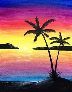 Paint Nite - Paradise Island