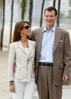 Prince Joachim and Marie of Denmark 2010