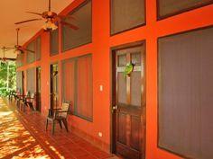 4 Doubles rooms Guacamayas Biological Station