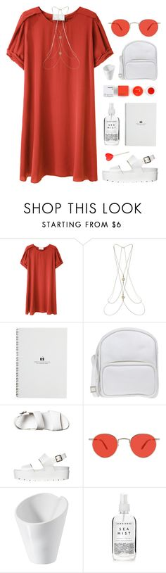 """#1014"" by maartinavg ❤ liked on Polyvore featuring 3.1 Phillip Lim, Miss Selfridge, Jil Sander Navy, Windsor Smith, Garrett Leight, Revol, Herbivore and Korres"