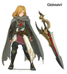 Dragon Nest Classes and NPC Concept Arts - Dragon Nest - Feature, News, Articles, Comments, Downloads, Videos, Gallery - MMOsite
