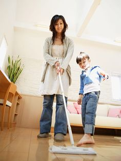 Speed clean your home
