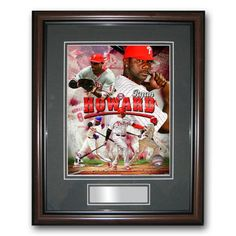 Treehugger 11X14 Unsigned Framed Photo - Philadelphia Phillies Ryan Howard
