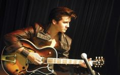 Elvis Presley, singer, actor, rock and roll, king, music, guitar, microphone, wallpaper