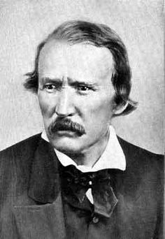 Kit Carson - Born Christopher Houston Carson on December 24, 1809 & died on May 23, 1868 from an aortic aneurism.  He was a scout, trapper; much involved with Indian affairs.
