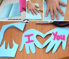 Easy Mothers Day craft for kindergartners