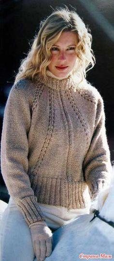 Утепляемся, женские модели (реглан спицы) - Вязание - Страна Мам