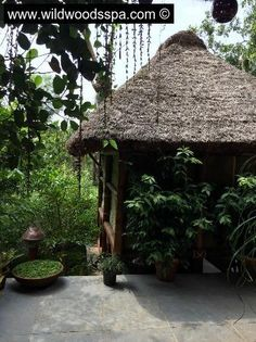 The massage centre of wild woods spa where you can undergo various spa therapies and ayurvedic treatments...