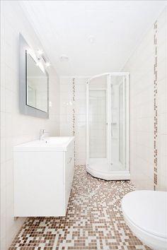 Coloniale 2,5x2,5 mosaikk fra Appiani Home, Bathroom, Alcove Bathtub, Alcove