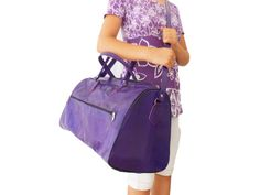 Mauve Purple Women Leather Duffle Bag , Violet Luggage Sports Ditty Utility Travel Weekend Bag, Gift for her by NoussaBags on Etsy https://www.etsy.com/listing/162033651/mauve-purple-women-leather-duffle-bag