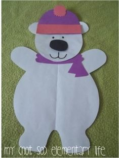 Polar Bear Thematic Unit & Craft by Heidi Dickey | Teachers Pay Teachers