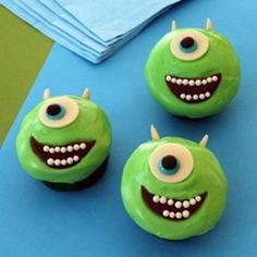 Mike Wazowski Cupcakes Recipe - ZipList
