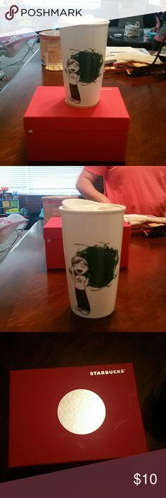 Starbucks Coffee Mug Little boy on Starbucks Coffee Mug 12 oz. Starbucks  Other