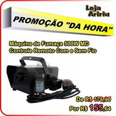OFERTA! Máquina de Fumaça 500W Controle Com e Sem Fio: de R$ 178,90 por apenas R$ 155,64 em http://www.aririu.com.br/maquina-de-fumaca-md-500w-1l-controle-com-sem-fio-fluido_123xJM