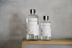 Branding and packaging by Mexican design studio Savvy for twice distilled mezcal Barro de Cobre