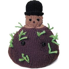 """Happy Groundhog day! This little """"hog"""" pops out of a mound of dirt (or a potato, in some Idahoan cultures)"""