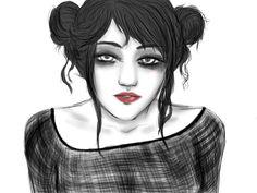 Morganville Vampires Fan Art: Eve Rosser by ~CrystalShinigami-kun