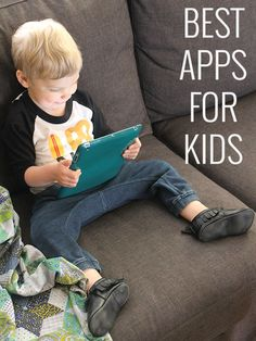 Check out these recommended apps for kids of all ages.