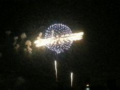 Fireworks in Seoul.