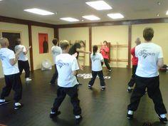 Siu Nim Tau practice during Wing Chun class at The Dragon Institute