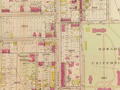 Georgia Avenue in 1911 (old Brightwood Avenue)