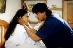 Dilwale Dulhaniya Le Jayenge (1995): One of Bollywood's biggest blockbuster and eternal love story 'Dilwale Dulhaniya Le Jayenge' is believed to have revived SRK's sinking career. With 'Dilwale Dulhaniya Le Jayenge', SRK became an instant trendsetter - be it his dialogue delivery, his style of talking, the guitar everything. Dilwale Dulhaniya Le Jayenge's Raj and Simran even went on to be many lovers' inspiration.