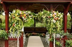 An intimate lush Rose Garden Pavilion wedding, captured by Kirralee Ashworth. Garden Pavilion, Pavilion Wedding, Wedding Ceremony, Corsage Wedding, Flower Bouquet Wedding, Floral Wedding, Ceremony Backdrop, Ceremony Decorations, Wedding Centerpieces
