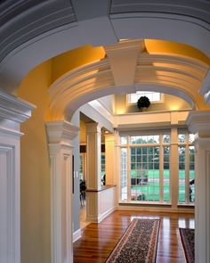 2005 showcase - traditional - - other metro - by Witt Construction Moulding And Millwork, Archway Molding, Crown Molding, Home Design Decor, House Design, Design Ideas, My Dream Home, Dream Homes, Architecture Details