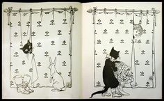-Puss In Boots- in Cinderella's Picture Book, drawing by Walter Crane, about 1897   Flickr - Photo Sharing!