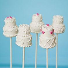 diy wedding cake pop