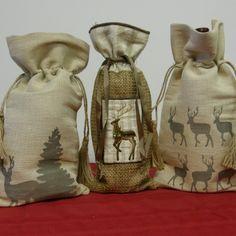 Wine Bag with Drawstring