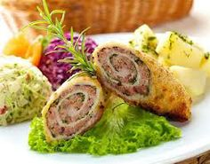This is  pork filled with meat balls meat with sausage, plus parsley.