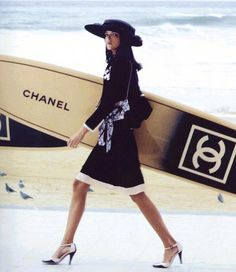 Chanel Surfboard. GIVE ME