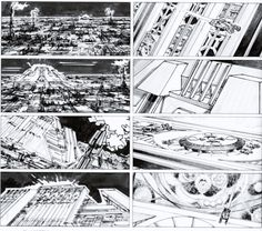 Blade Runner (1982) Director: Ridley Scott Storyboard Artist: Tom Cranham