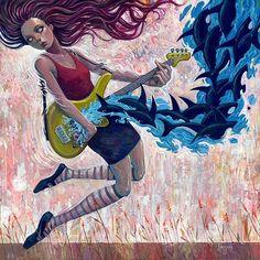 Creative #Illustrations by Aaron Jasinski