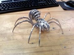 This desk accessory looks like a prop from a Transformer movie! COOL!