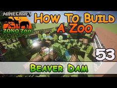 YouTube Modern Minecraft Houses, Minecraft Garden, Minecraft Blueprints, Beaver Dam, Zebras, Elephant, Lol, Building, Youtube