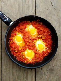 Szakszuka – idealne śniadanie!  http://kateskitchen.pl/szakszuka-idealne-sniadanie/
