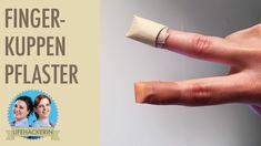 Fingerkuppenpflaster selbermachen I DIY-Pflaster für Fingerspitzen I Spa...
