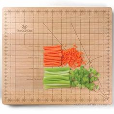 OCD Cutting Board to assist in getting the most precise measurements in exacting detail.