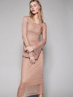 Product Image: Deliah Metallic Dress