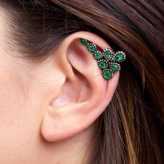 Ear Cuff 'Biela'