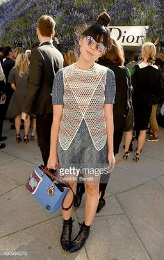 Susanna Lau attends the Christian Dior show as part of the Paris Fashion Week Womenswear Spring/Summer 2016 on October 2, 2015 in Paris, France. #susiebubble #stylebubble
