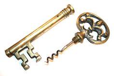 Antique Keys | ... Online - Antique & Vintage Corkscrews  Key Corkscrews