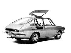 1966 Fiat 850 Vanessa (Ghia) - Studios