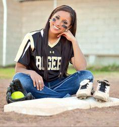 Senior Portrait / Photo / Picture Idea - Softball